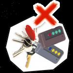 nokey2 150x150 - 遠端鐵捲門遙控器 智慧 | 監控 | 保全 | 安防