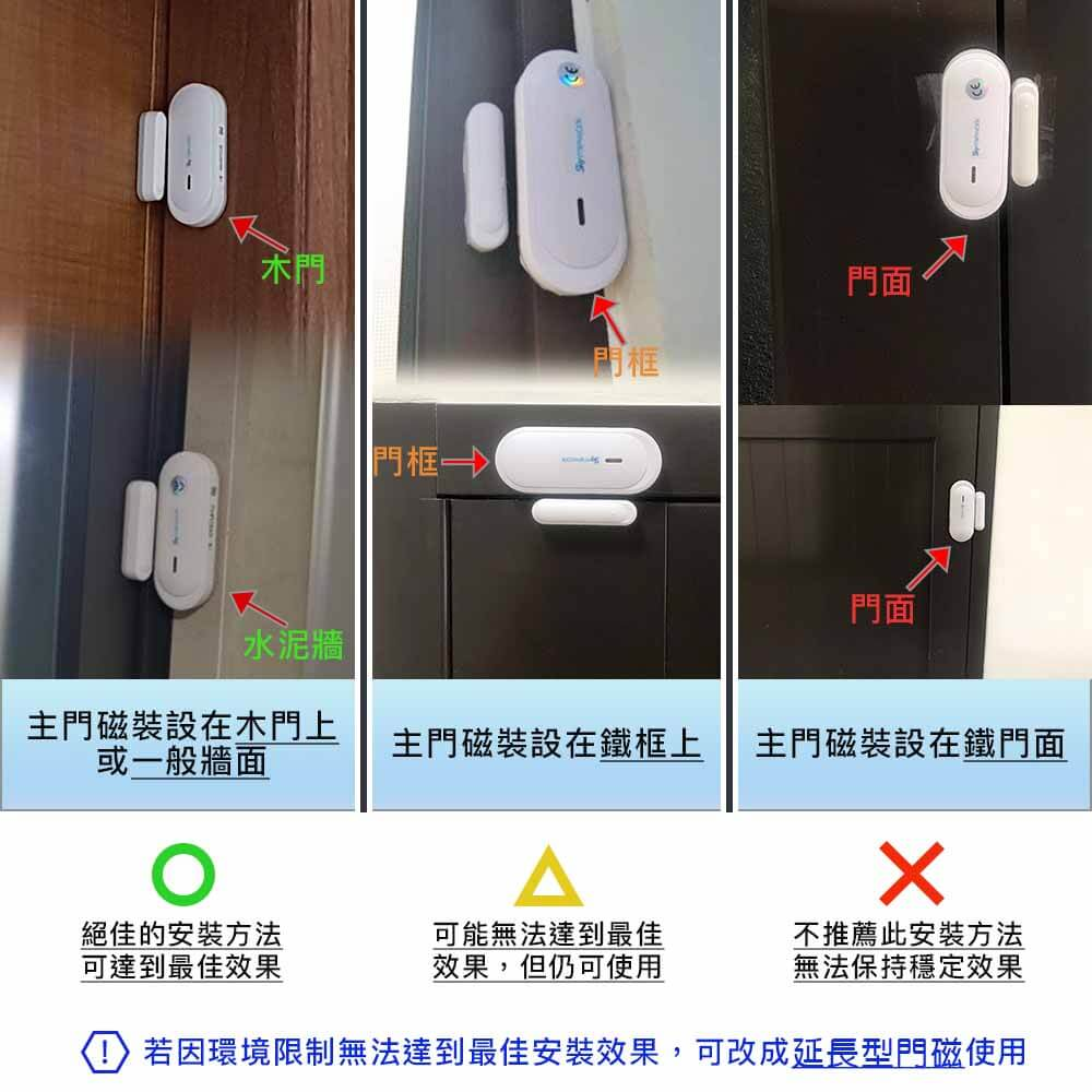 1 - 智樂小家優無線門磁安裝說明與安裝技巧